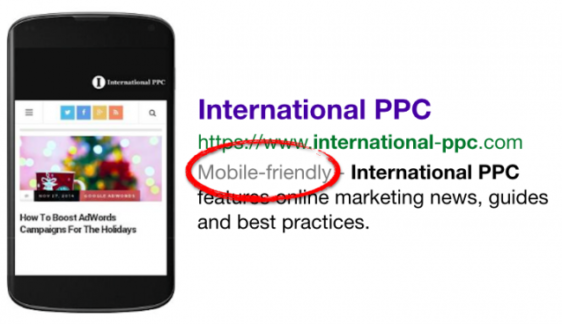 Mobile-friendly label di Google: i siti responsive vengono premiati
