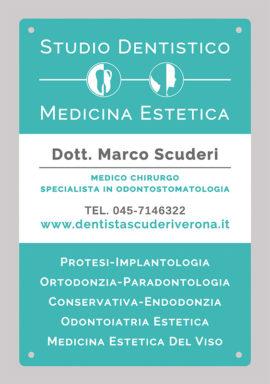 Targa Studio Dentistico Scuderi