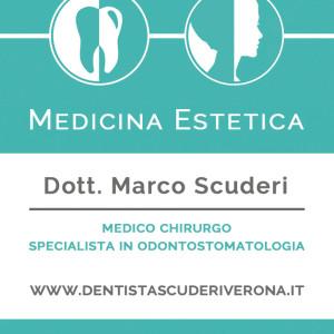 Biglietto da visita per lo studio dentistico Scuderi