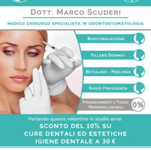 Volantino A5 per Studio Dentistico Scuderi